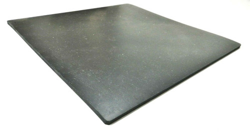 """Bench Rubber Mat 12"""" x 12"""" x 1/4"""" Solid Durable Rubber Surface Pad Work Block"""