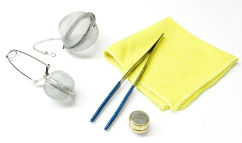 Jewelry Cleaning Tools Ultrasonic Steam Cleaning Accessories,5 PCS
