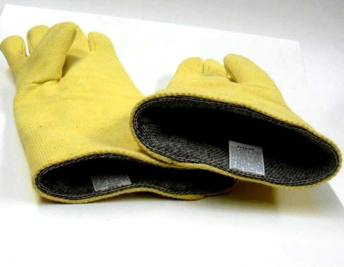 "Gloves Heat Resistant Glove 18"" Long Pair Melting Hot Furnace Casting Foundry"