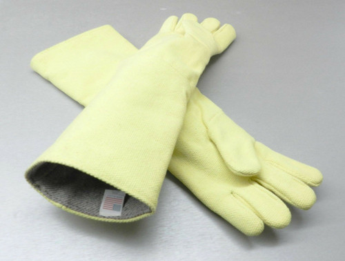 High Temperature Gloves Heat Resistant Furnace Safety Gloves Smelting Pair 23""