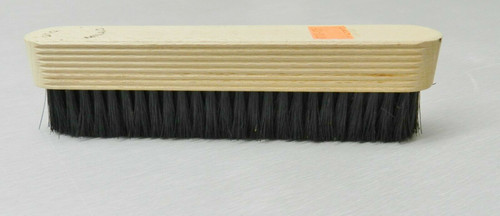 """Hand Held Brush Duster Natural Bristle 7 Rows Mounted on Wooden Handle 6-1/2"""""""