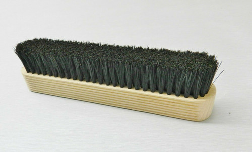 Hand Held Brush Duster Natural Bristle 7 Rows Mounted on Wooden Handle 6-1/2""