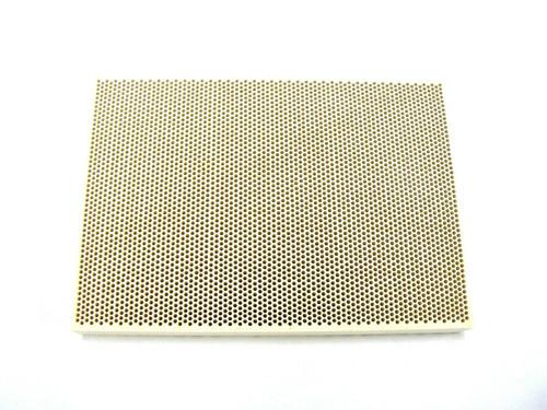 "Soldering Board Ceramic Honeycomb Solder Block Heating 3-3/4"" X 5-1/2"" X 1/2"""