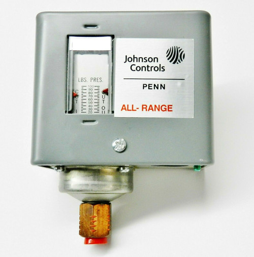 Steam Pressure Control Penn for Steamaster HPJ3 to HPJ7 by Johnson Controls