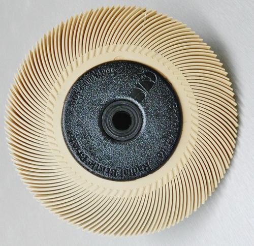 """3M Radial Bristle Disc Peach 6 Micron Brush 6"""""""
