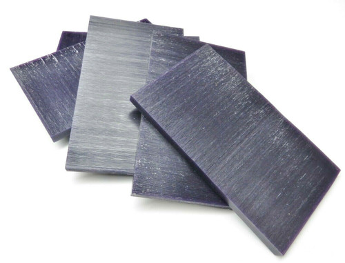 "Ferris Carving Wax Tablets Purple Wax 5/16"" Thick 6""x3-5/8"" Flat Bars"