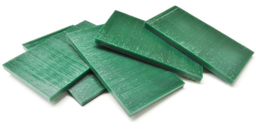 "Ferris Carving Wax Tablets Green Wax 5/16"" Thick 6""x3-5/8"" Flat Bars"