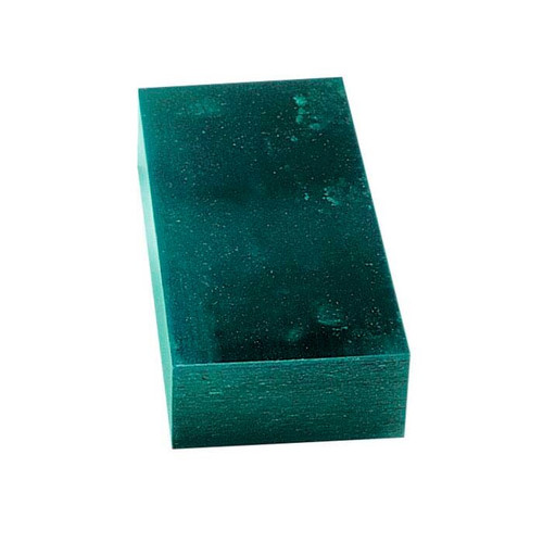 Matt Block Carving Wax 1 Pound Green Jewelry Model Making