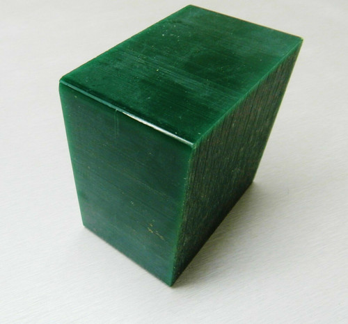 Green Carving Wax Ferris File-A-Wax Block DSB-5 1 Pound Square Bar