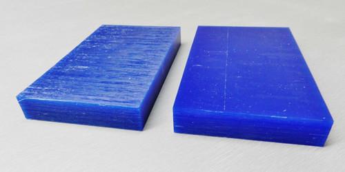 "Ferris Carving Wax 3/4"" Thick Tablets Blue Wax 6"" x 3-5/8"" Flat Bars 2 Pc"