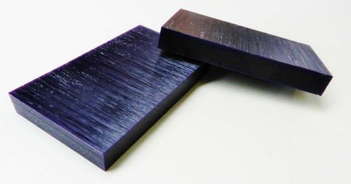"""Carving Wax Ferris Wax Purple 3/4"""" Thick Flat Tablets 2-Bars"""