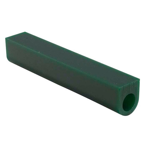 """Carving Wax Ring Tube 1-1/8"""" x 1"""" x 5/8"""" off-centered hole Green Hard Ferries Wax"""
