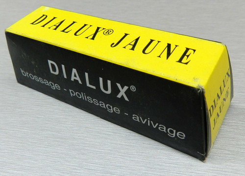 Dialux Yellow Jaune Polishing Compound Rouge