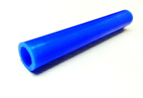 "Ferris Carving Wax Ring Tube Center Hole 7/8"" OD x 5/8"" ID Blue"