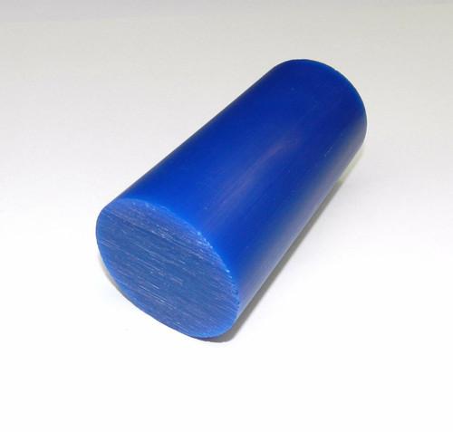 "Blue Carving Wax Bar Design Models in Wax Round 2-5/8"" X 5-1/2"" 1lb Drb-4 Ferris"