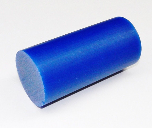 "Carving Wax Round Bar Ferris Blue Soft 3-1/16"" Diameter"