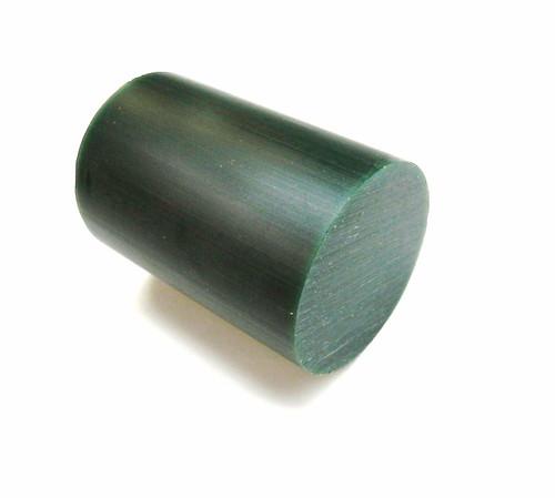"""Carving Wax Round Bar Green 3-1/16"""" Diameter Ferris File-A-Wax Hard DRB-3 - 1Lb"""
