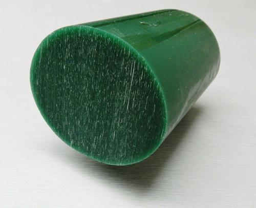 """Oval Bracelet Carving Wax Bar Ferris Green  3-1/8"""" wide"""