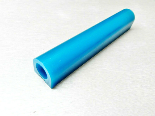 "Carving Wax Ring Tube Flat Top Ferris Turquoise 1x1 - 5/8"" ID"