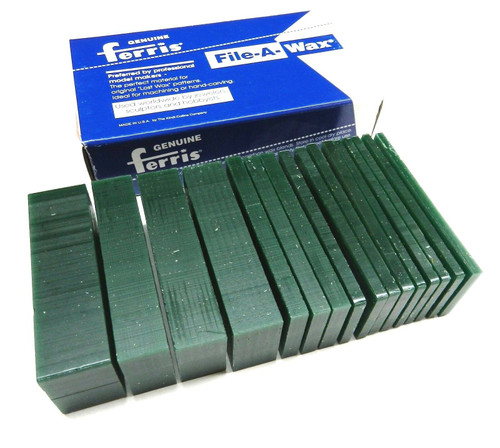 Carving Wax Slices Ferris 1# Assortment Green Wax Design Carve Jewelry Models