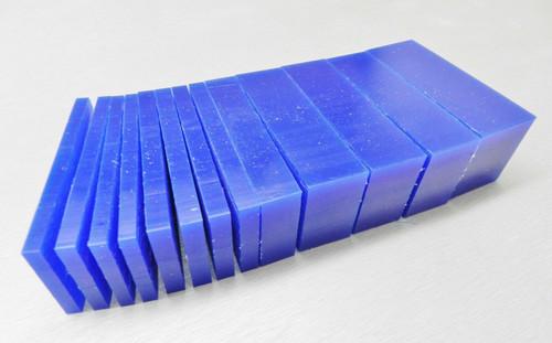 Matt Carving Wax Assortment Slices Blue 1 Lb.