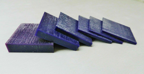 Carving Wax Ferris Purple File-A-Wax Square Slices DSS-1 Square Slabs 1 Pound