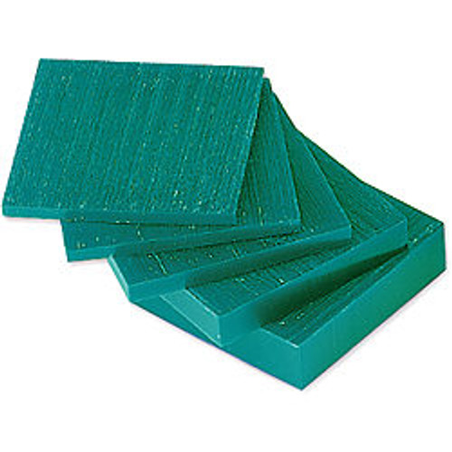 Carving Wax Ferris Green File-A-Wax Square Slices DSS-1 Square Slabs 1 Pound