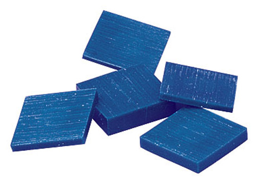 Carving Wax Ferris Blue File-A-Wax Square Slices DSS-1 Square Slabs 1 Pound