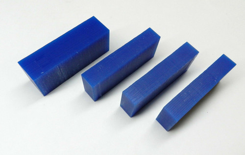 Ferris Carving Wax Blocks Blue Jewelry Wax Model Design Wax Carving Pre-Cut Pcs