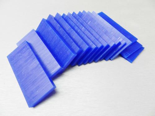 Ferris Carving Wax Assortment Slices Blue 1/2 Lb.