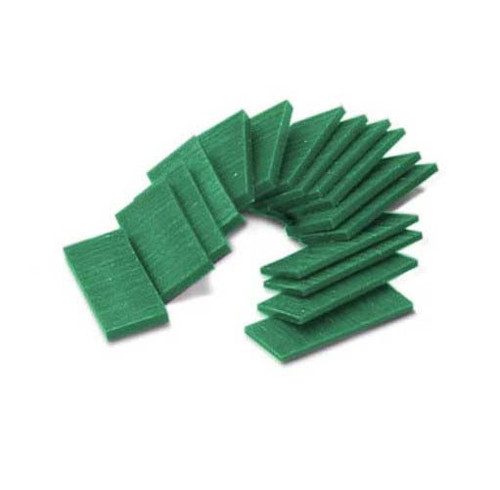 Ferris Carving Wax Assortment Slices Green 1/2 Lb.