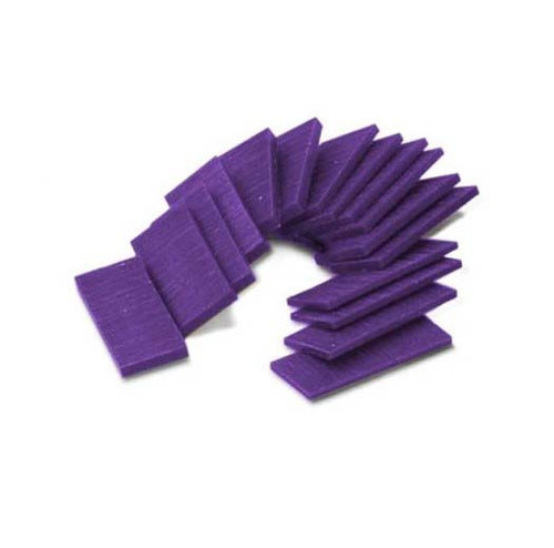 Ferris Carving Wax Assortment Slices Purple 1/2 Lb.