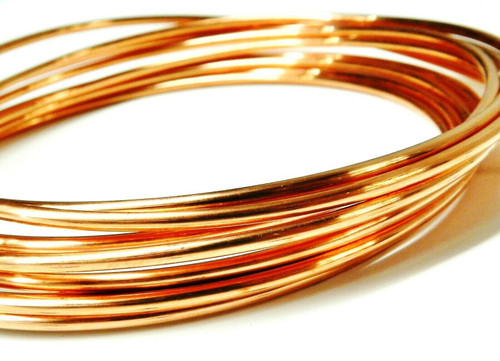10 GaugeCopper Wire Dead Soft Coil Pure Round Copper Wire 10 FT