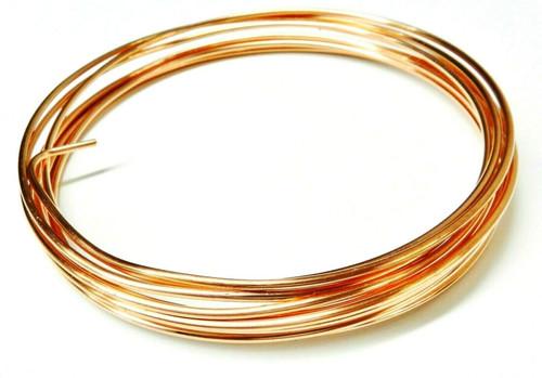 12 Gauge Copper Wire Dead Soft Coil Pure Round Copper Wire 10 FT