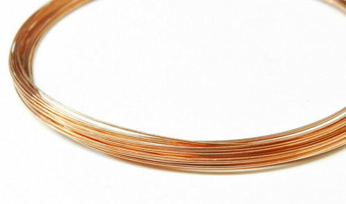 24 Gauge Copper Wire Dead Soft Coil Pure Round Copper Wire 25 FT