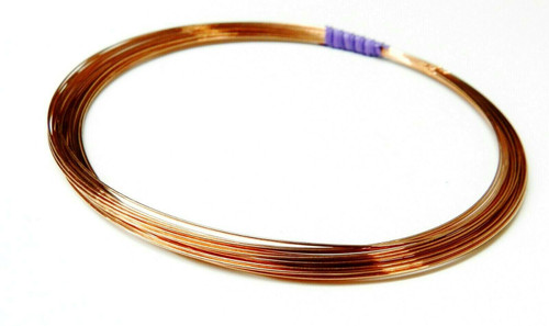 24 Gauge Copper Wire Dead Soft Coil Pure Round Copper Wire 25 FT
