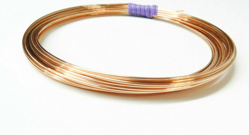 18 Gauge Copper Wire Dead Soft Coil Pure Round Copper Wire 25 FT