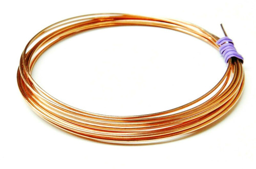 16 Gauge Copper Wire Dead Soft Coil Pure Round Copper Wire 10 FT