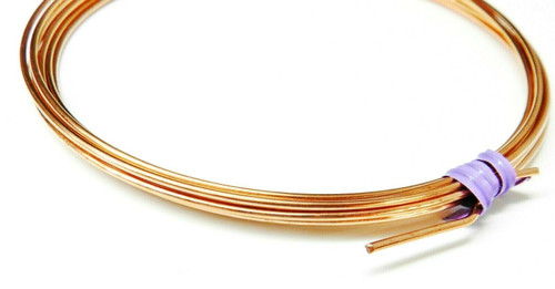 14 Gauge Copper Wire Dead Soft Coil Pure Round Copper Wire 10 FT