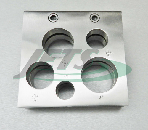 """Disc Cutter Set 1 to 2"""" X-Large 5 Sizes"""