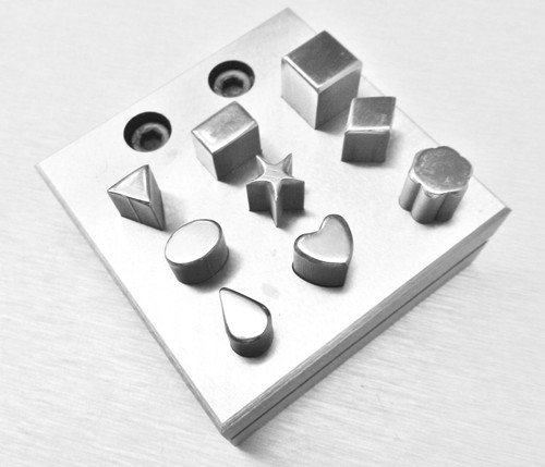 Disc Cutter Set 9 Assorted Shapes Jewelry Making Design Different Various Forms