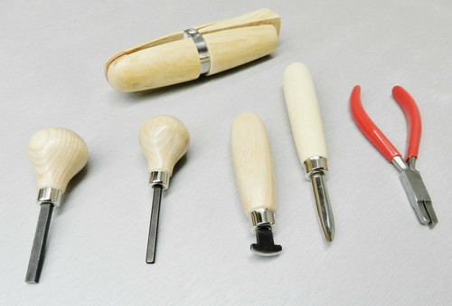 Stone Setting Tool Kit Jewelry 6pcs  Set