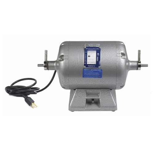 Baldor Lath 359T 1/2 HP 1-Speed Polishing Motor 115V/60H