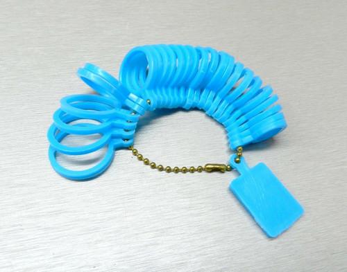 Finger Gauge Ring Size Measuring Finger Sizes 1-13 Sizer Plastic Jewelry Making