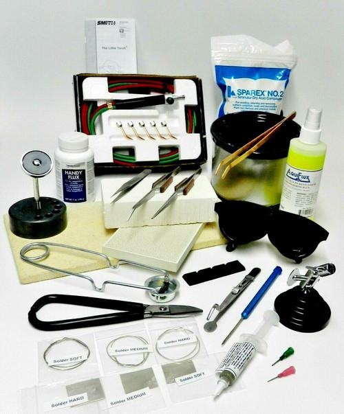 Deluxe Jewelry Soldering Kit Complete Tools Materials