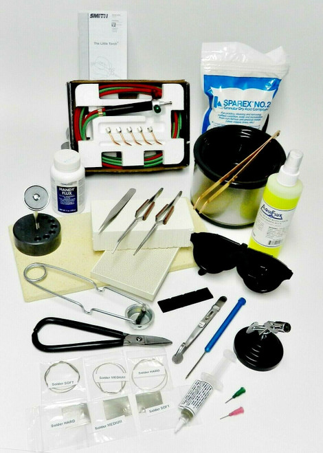 Deluxe Jewelry Soldering Kit Complete Tools Materials