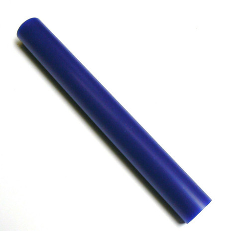 "Ferris® Solid Round Bar Blue Soft Carving Wax 1-5/16"" Diameter x 11-1/4"" Long"