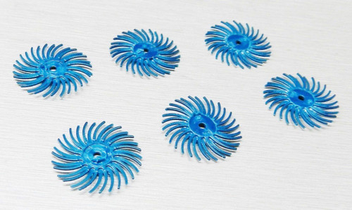 "Foredom Radial Bristle Discs 400 Grit Blue 3/4"" -  3M Radial Brushes"