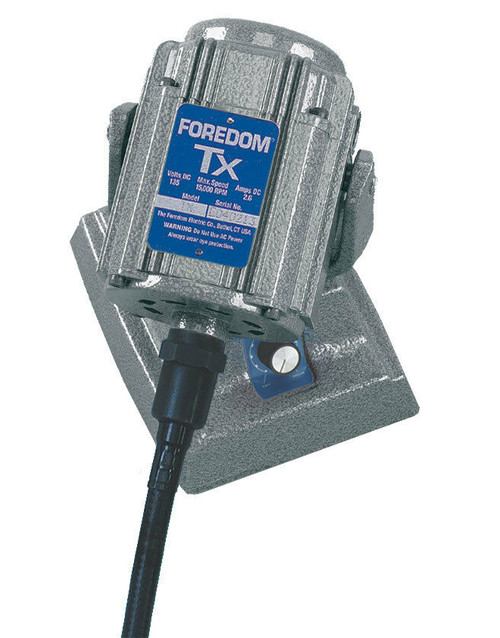 Foredom Bench Flexshaft Motor Square Drive Shafting Built-in Dial Control M.TXMH