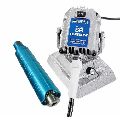 Foredom SR Flex Shaft Bench Motor with Built-in Dial Control M.SRM & H.30 Handpiece